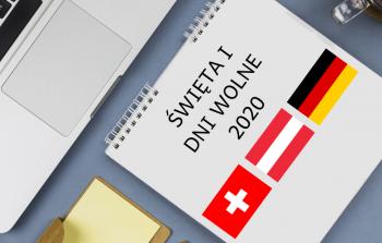 Święta i dni wolne w 2020 w Szwajcarii, Austrii oraz Niemczech