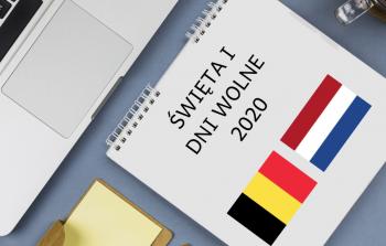 Święta i dni wolne w 2020 w Holandii i Belgii